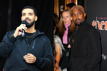 Drake Appears To Respond To Kanye West's Twitter Rant