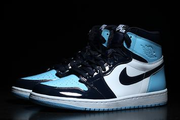 """Air Jordan 1 """"UNC Patent Leather"""" Gets February Release Date: New Images"""