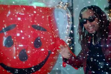 "Lil Jon Links With The Kool-Aid Man For ""All I Really Want For Christmas"""
