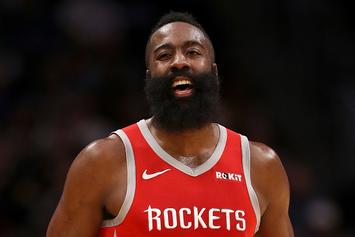 """NBA Refs' Statement On James Harden's Step-Back: """"We Missed This One"""""""