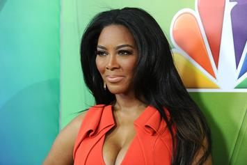 Kenya Moore Gets Shamed For Kissing Her Daughter