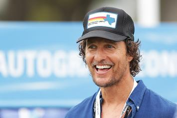 "Matthew McConaughey Named ""Minister Of Culture"" For Texas' Basketball Arena"