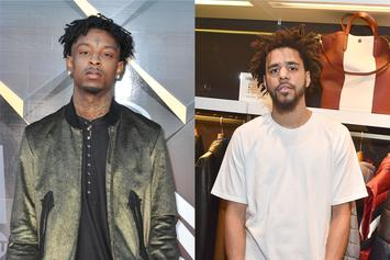 "21 Savage's CD Version Of ""A Lot"" Reportedly Does Not Feature J. Cole"
