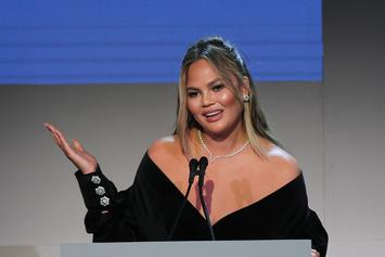 Chrissy Teigen's Headed Back To Time Square To Find Her Eyeball
