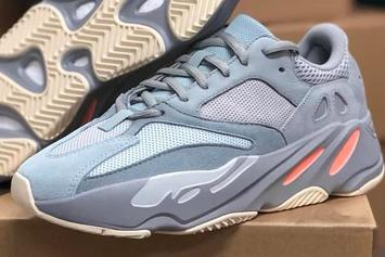"Adidas YEEZY BOOST 700 ""Intertia"" Gets An In-Person Look"