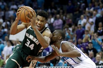 Giannis Antetokounmpo Believes He Can Beat Dwayne Johnson In A Wrestling Match