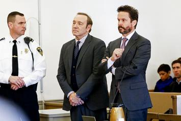 Kevin Spacey Appears In Court For Sexual Assault