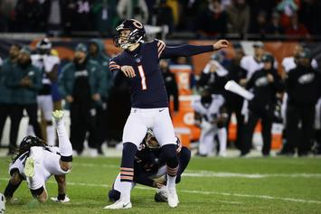 Cody Parkey's Missed Field Goal Officially Ruled A Blocked Kick By NFL
