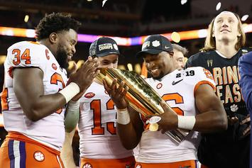 Clemson Trolls Drake Following National Championship Win Vs Alabama
