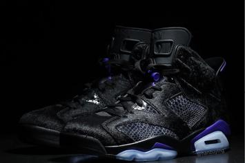 """Cow Fur"" Air Jordan 6s Rumored To Drop In March: New Images"