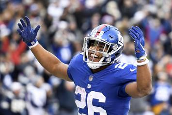 "Rashad Jennings Says Saquon Barkley Should Win ""Rookie Of The Year"""