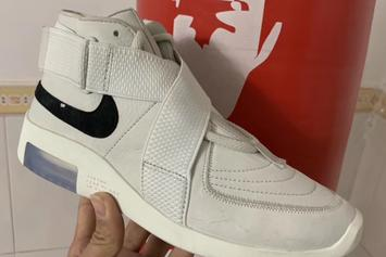 "Nike Air Fear Of God 180 ""Light Bone"" Images Emerge"