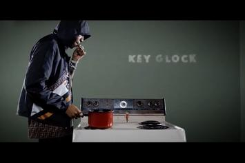 "Key Glock Reigns Over The Stove In ""Bottom Of the Pot"" Visuals"