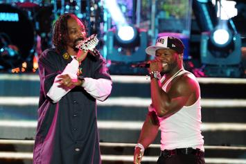 Snoop Dogg Links With 50 Cent For A Surprise Performance