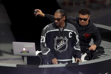 Snoop Dogg Provides Hilarious Hockey Commentary During Kings-Penguins Game