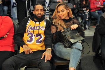 Nipsey Hussle & Lauren London Spark Engagement Rumours With Glamorous Photoshoot