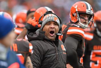 "Hue Jackson Raged On Browns' GM When Fired: ""Get The F*ck Out Of My Office"""
