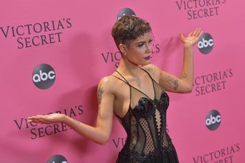 """Halsey Shows Off The """"L.A. Winter"""" With Poolside Bikini Pic"""