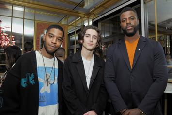 Kid Cudi Celebrates Birthday With Kanye West, Pete Davidson, And Timothé Chalamet