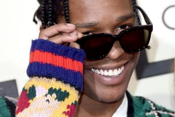 A$AP Rocky Shows Off Wondrous Brassiere Collection