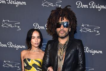 Lenny Kravitz & Daughter Zoe Head Back Home To Bahamas To Explore Their Roots