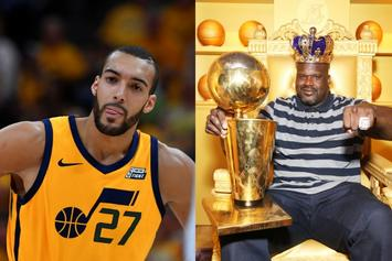 "Shaquille O'Neal To Rudy Gobert: ""There's No Crying In Basketball Rudy, Man Up"""