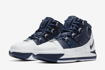 "Nike Zoom LeBron 3 ""Midnight Navy"" Returns This Week"