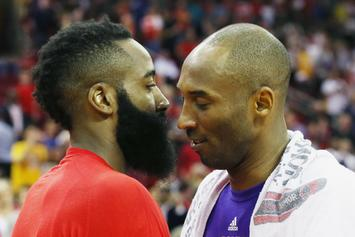Kobe Bryant Doesn't Believe Rockets Can Win A Title With Harden's Style Of Play
