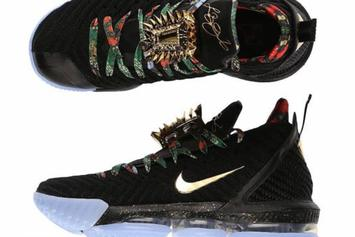 "Nike LeBron 16 ""Watch The Throne"" Release Details Announced"