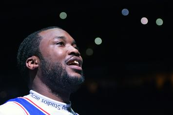 "Meek Mill Disfigures His Rolls Royce ""Ghosty"" In Collision With Uber Driver"