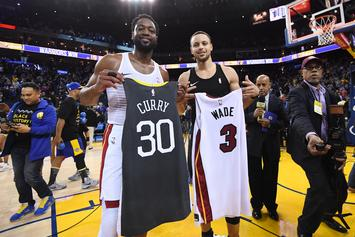 """Steph Curry Shows Respect To Dwyane Wade, Says he has """"A Lot More In The Tank"""""""