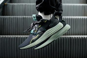 """Adidas ZX 4000 4D """"Carbon"""" Coming Soon: On-Foot Images"""