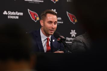 Kliff Kingsbury Is Sticking With Josh Rosen Despite Kyler Murray Praise
