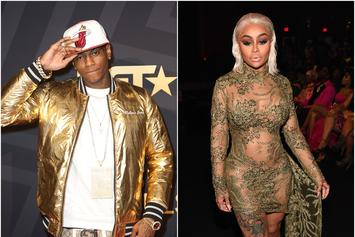 Soulja Boy & Blac Chyna Spend Valentines Day Together
