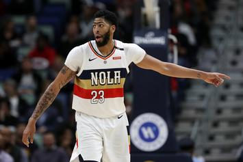 Anthony Davis Could Miss All-Star Game With Bruised Shoulder: Report