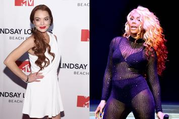 "Lindsay Lohan Blasts Tamar Braxton Following ""Celebrity Big Brother"" Win"