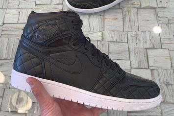 "Quilted Air Jordan 1 ""All Star"" Surfaces: First Look"