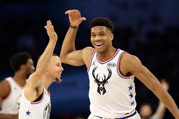 "Warriors Have ""Internally Mused"" About Signing Giannis Antetokounmpo In 2021"