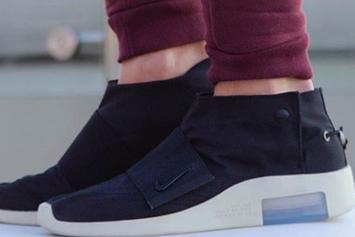 free shipping d79e1 2a959 Nike Air Fear Of God Moccasin On-Foot Images · SNEAKERS