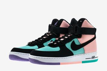 """Nike Air Force One High Added To """"Have A Nike Day"""" Collection"""