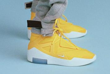 Nike Air Fear Of God Rumored To Release In Yellow Colorway
