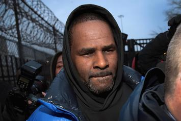 R. Kelly's Van Picks Up Mystery Girl After Singer Posts $100K Bond