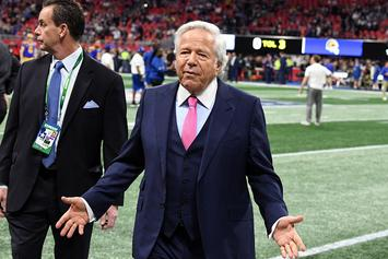 Robert Kraft Pleads Not Guilty In Prostitution Case