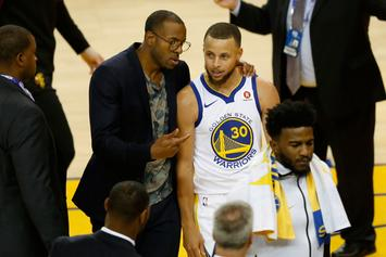 "Andre Iguodala Labels Steph Curry ""Second-Best Point Guard Ever"""