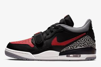 "Jordan Legacy 312 Low To Debut In ""Bred"" Colorway: Details"