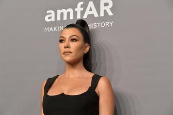 "Kourtney Kardashian Poses Nude To Promote New Project ""Poosh"""