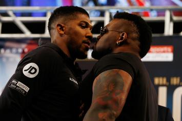 """Jarrell Miller Pulls Anthony Joshua's G-Card, Questions Boxer's """"Public Image"""""""