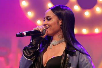 """Kehlani Becomes A """"Butterfly"""" In Nude Pregnancy Video Shoot"""