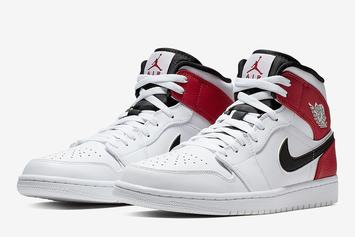 "Air Jordan 1 Mid Offers Up A Remix On The ""Chicago"" Colorway"