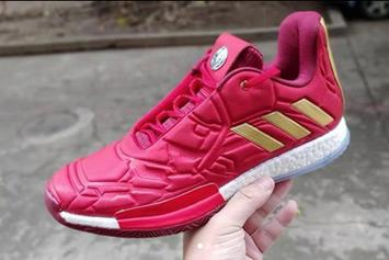 """""""Iron Man"""" Adidas Harden Vol. 3 Coming Soon: New Images"""